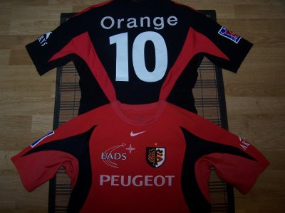 maillot match stade toulousain home et away porte f michalak 2005 2006 blog de jeu de mains. Black Bedroom Furniture Sets. Home Design Ideas